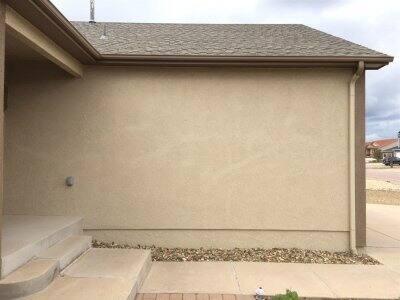 stucco wall